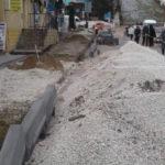 Amenajarea unei porțiuni de trotuar pe strada Chișinăului