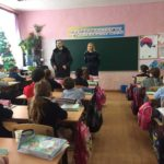 Poliția la Liceul Mihai Eminescu din Hâncești