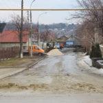 Lucrări la rețeaua de apă și canalizare str.Maria Drăgan-Grădinița nr1
