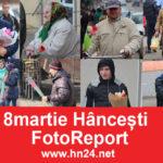 Foto Reportaj 8 Martie la Hâncești  văzut prin Obiectiv