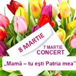 Concert de Sărbătoarea Internațională  8 martie la Hâncești