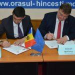 Atăzi s-a Semnat Acordul de Cooperare între Municipiul Hâncești și Municipiul Elbląg.