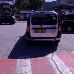 Video ! Accidentată de un Taximetrist pe Trecerea de Pietoni la Hîncești