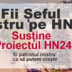 Ajută-ne să Creștem HN24 !