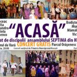 """Concert """"Acasă"""" invită Ludmila Dubceac !"""