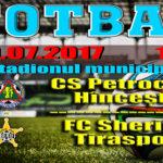 CS Petrocub Hîncești vs FC Sheriff Tiraspol