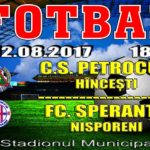 CS Petrocub vs FC Speranța !