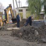 Mersul lucrărilor la Stația de pompare a apelor reziduale Nr.13