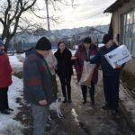 Ajutor din partea Primăriei Hîncești pentru Familia Cravcenco.