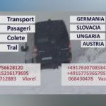 Transport Pasageri,Colete,Tral,La Comandă.
