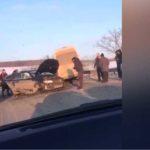Video:Accident pe traseul Chișinău-Hîncești
