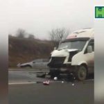 Video! Accident pe traseul Chișinău-Hîncești.
