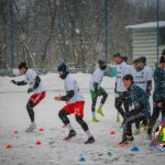 FC Petrocub Hîncești se antrenează chiar și pe condiții meteo nefavorabile