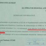 Posibil să se stopeze temporar aprovizionarea cu apă pentru s.Fîrladeni, raionul Hîncești.