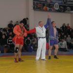 Aur pentru Bordeianu Valeriu din Hîncești la Campionatului RM la lupta Sambo