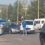Un accident sa produs azi dimineață pe str.Chișinăului din municipiul Hîncești