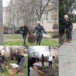 """Pasărea Albastră din Hîncești s-au alăturat campaniei """"Orașul meu Curat"""""""