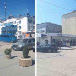 Taximetriștii  nu mai stau parcați pe str.Chișinăului din Hîncești