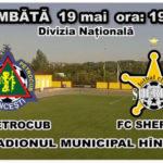 Astăzi ! FC Petrocub – FC Sheriff ! Stadionul Municipal Hîncești
