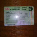 S-a găsit un certificat de înmatriculare a automobilului pe numele Ilică Vitalii.