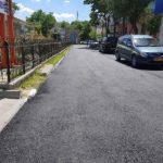 S-au finalizat lucrările de reparație a porțiunii de drum de acces în ograda blocurilor locative