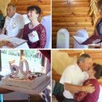 Familia Zamfirov  din Hîncești au împlinit 50 de căsnicie ! Nunta de Aur