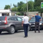 Două automobile s-au ciocnit la Hîncești
