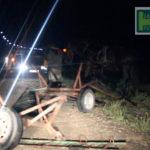 Video! O căruță a fost lovită de un automobil la Hîncești