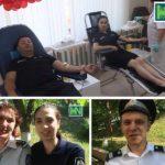 Video ! Angajații Inspectoratului de Poliție Hîncești au donat Sânge
