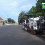 Lucrările de asfaltare au ajuns și pe strada Mihalcea Hîncu din Hîncești