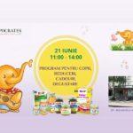 Sărbătoare pentru Copii organizată de Farmacia Hippocrates din Hâncești
