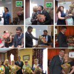 Lucrătorii medicali și farmaciștii de ziua lor profesională au primit Flori,Cadouri și Diplome
