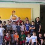 Copiii de la tabăra de odihnă din satul Cărpineni au fost vizitați de colaboratorii IP Hâncești