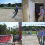 Primarul Municipiului Hâncești a verificat mersul lucrărilor pe Stadionul Municipal