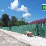 Au început lucrările de schimbare a stîlpurilor pe str. M. Sadoveanu