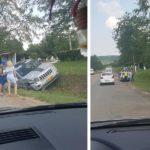 Accident între două automobile la Rusca raionul Hâncești