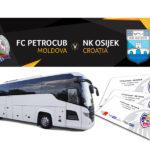 3 autocare și bilete Gratis la meciul cu FC Petrocub – NC Osijek