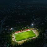 Poze exclusive cu Stadionul Municipal Hâncești Noaptea !