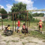 Un grup de voluntari au amenajat terenul de sport de la Școala Profesională Hâncești