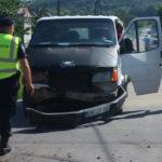 Video! Accident pe strada Mihai Eminescu din Hâncești
