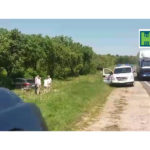 Accident pe traseul Hâncești-Chișinău ! O persoana cu brațul fracturat și alta cu îngrijiri medicale