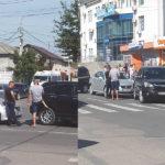 Accident pe strada Chișinăului din mun.Hâncești