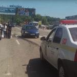 Video! Accident pe strada Chișinăului din Hâncești