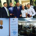 Igor Untilă din Hâncești a primit distincția Meritul Civic din partea lui Igor Dodon