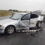 Accident pe șoseaua Hâncești-Chișinău ! O persoană transportată de urgență la spital