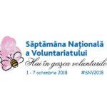 Invitație la implicare în Săptămâna Națională a Voluntariatului
