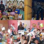 """Hăinuțe și Jucării din Italia pentru Copii Centrului """"FILOCALIA"""" din satul Buțeni"""
