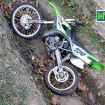 S-a găsit un motocross într-un șanț din Hâncești ! Se caută stăpânul