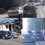 Șoferii parcați neregulamentar au fost sancționați de către Inspectoratul de Poliție Hâncești
