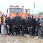 Peste 190 de puieți de tei și arțar au fost sădiți de către lucrătorii din Primăria Hâncești